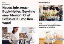 Kenwood Titanium Chef Patissier XL gewinnen Brigitte Gewinnspiel