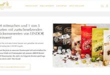 LINDOR Probierpaket gewinnen: Lindt Gewinnspiel