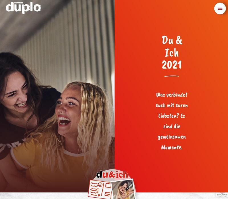 Täglich 500-Euro-Gutschein: duplo Gewinnspiel