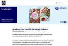 Weight Watchers Kochbuchpaket gewinnen: ALDI Süd Gewinnspiel