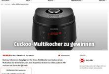 8-in-1 Cuckoo Multikocher gewinnen MediaMarkt Gewinnspiel