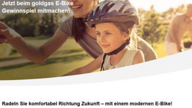 Fischer Trekking-E-Bike gewinnen: Goldgas Gewinnspiel
