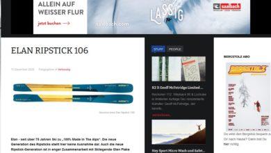 Gewinne die Elan Ripstick 106 Allround Ski: Bergstolz Gewinnspiel