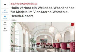 Jetzt Frauenurlaub gewinnen – Hallo München Gewinnspiel