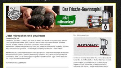 Jetzt Gastroback Cook & Mix gewinnen – EDEKA Gewinnspiel