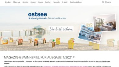 Jetzt Ostsee-Urlaub gewinnen – asambeauty Gewinnspiel