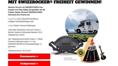 Jetzt Wohnmobil-Urlaub gewinnen – SWIZZROCKER Gewinnspiel