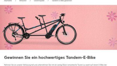 Tandem E-Bike gewinnen Kaufland Gewinnspiel