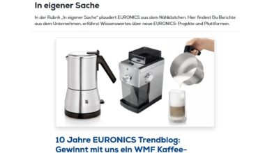 WMF-Kaffeeset gewinnen EURONICS Gewinnspiel