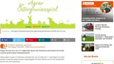 Agrar-Ostergewinnspiel 2021