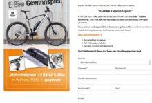 Bären Bikes E-Bike Carbon gewinnen Interliving Gewinnspiel