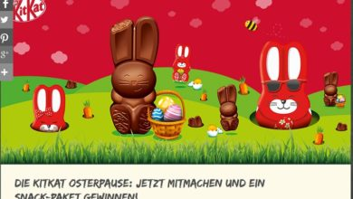 Gewinne ein KitKat Snack-Paket Nestlé Marktplatz Gewinnspiel