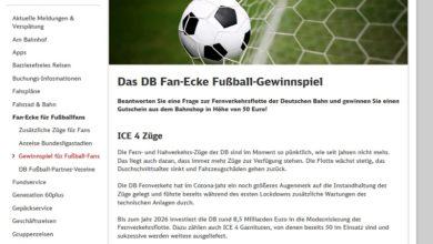 Jetzt 50 € bahnshop.de Gutschein gewinnen – Deutsche Bahn Gewinnspiel