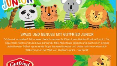 Jetzt Europa Park Rust Tickets gewinnen – Gutfried Junior Gewinnspiel