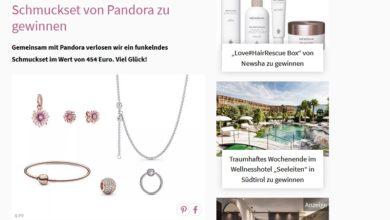 Jetzt Pandora-Schmuckset gewinnen – Petra Gewinnspiel