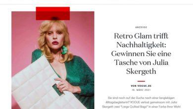 Large Quilted Bag von Julia Skergeth gewinnen VOGUE Gewinnspiel