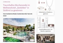 Südtirol-Wochenende gewinnen Petra Gewinnspiel
