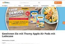 Apple Air Pods gewinnen myTime Gewinnspiel