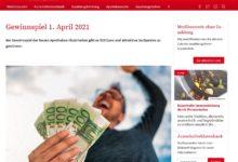 Bargeld und andere Preise gewinnen aponet Nord