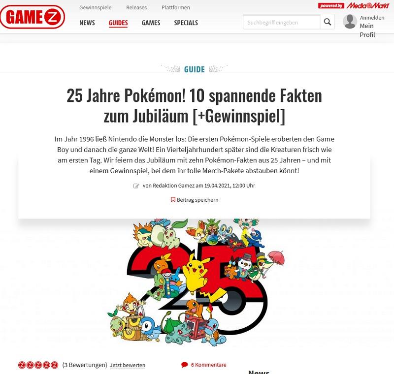 Gewinne ein Pokémon Merchandise-Paket MediaMarkt Gewinnspiel