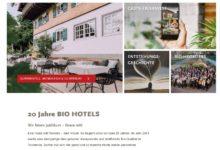 Jetzt 250 € Hotelgutschein gewinnen: BIO HOTELS Gewinnspiel