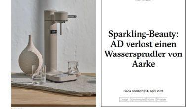 Jetzt Aarke Wassersprudler Carbonator III gewinnen – AD-Magazin Gewinnspiel