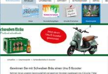 Jetzt E-Scooter gewinnen – GEFAKO Gewinnspiel