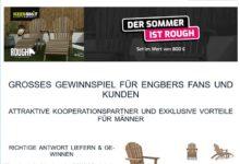ROUGH! Gartenstuhl-Set gewinnen engbers Gewinnspiel