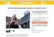 Sony WF-XB700 Kopfhörer von gewinnen Cosmopolitan Gewinnspiel