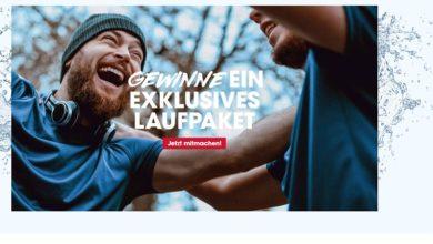 Team Gerolsteiner Laufpakete gewinnen: Gerolsteiner Gewinnspiel