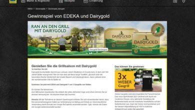Weber Gasgrill gewinnen EDEKA Gewinnspiel