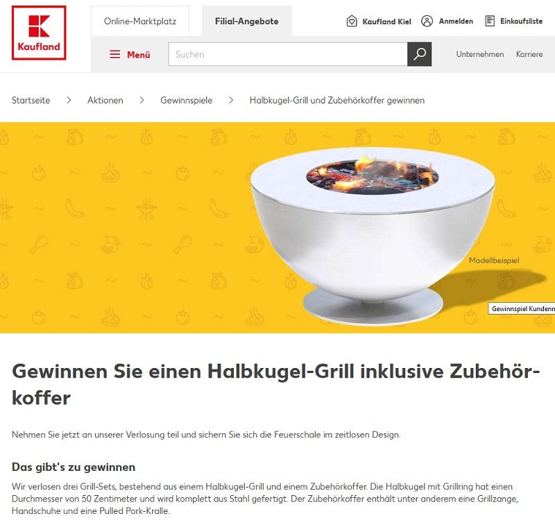 Gewinne Designer Grill-Set Kaufland Gewinnspiel