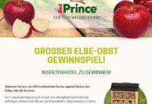 Gewinne ein Insektenhotel Elbe Obst Gewinnspiel