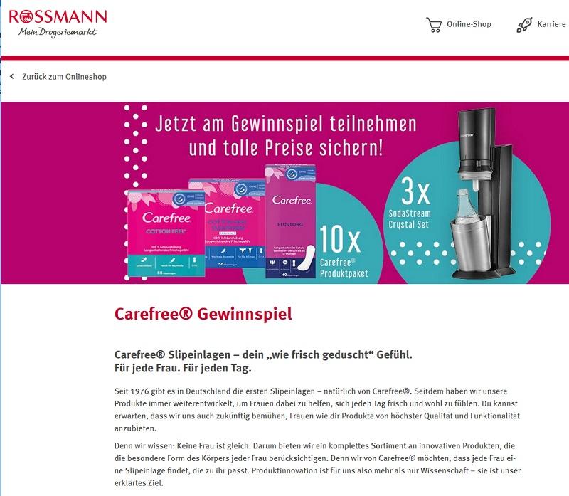 Gewinne ein SodaStream Crystal Set Rossmann Gewinnspiel