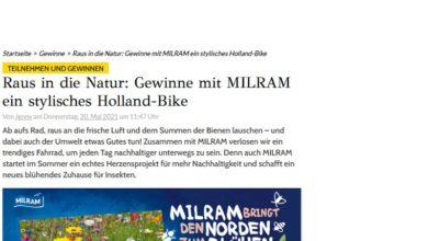 Jetzt Holland-Bike gewinnen GRAZIA Gewinnspiel