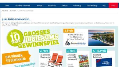 Gewinne einen Camping Urlaub Fritz Berger Gewinnspiel
