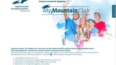Gewinne einen Freiberg-Kurzurlaub OK Bergbahnen Gewinnspiel
