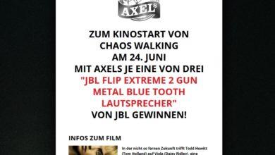 Gewinne einen JBL Extreme 2 Gun Metal Bluetooth-Speaker 24U Media Gewinnspiel