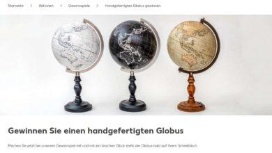 Globus von Chris Adams gewinnen Kaufland Gewinnspiel