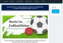 Jetzt DFB-Fanpakete gewinnen Volkswagen Automobile Berlin Gewinnspiel