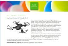 Jetzt RC Video Drohne gewinnen gardenplaza Gewinnspiel