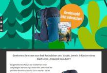 Jetzt Vaude Rucksack + Buch gewinnen ZukunftLeben Gewinnspiel