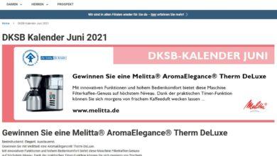 Melitta AromaElegance Therm Deluxe Kaffeemaschine gewinnen Jeans Fritz Gewinnspiel