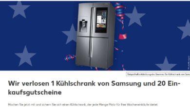 Samsung Side-by-Side-Kühlschrank gewinnen Kaufland Gewinnspiel