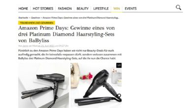 BaByliss Diamond Haarstyling-Set gewinnen GRAZIA Gewinnspiel