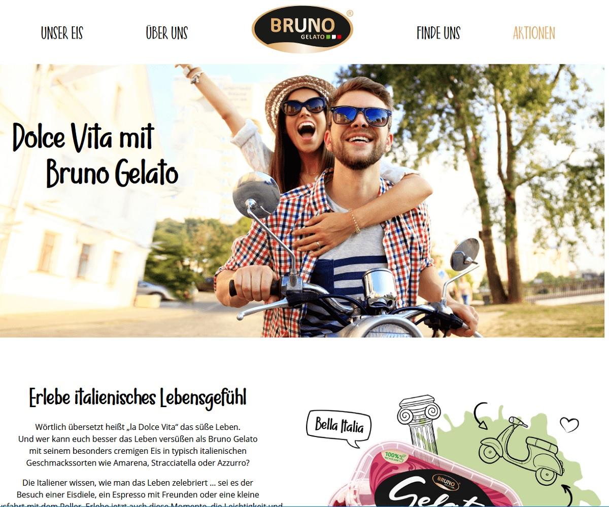 Bruno Gelato Gewinnspiel: Gewinne jetzt einen Lambretta Retro-Roller oder De'Longhi Kaffeevollautomat