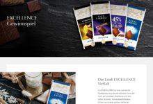 Gewinne ein EXCELLENCE-Chocoladenpaket Lindt Gewinnspiel