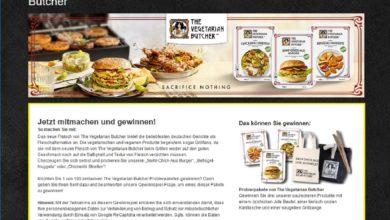 Gewinne ein The Vegetarian Butcher Probierpaket EDEKA Gewinnspiel