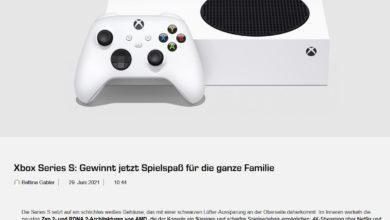 Gewinne eine Xbox Series S SATURN Gewinnspiel