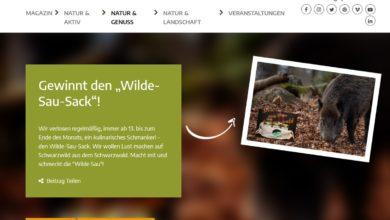 Gewinne monatlich Wildspezialitäten Naturpark Schwarzwald Gewinnspiel